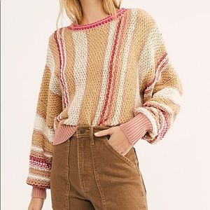 NEW Free People Show Me Love Sweater XS $148